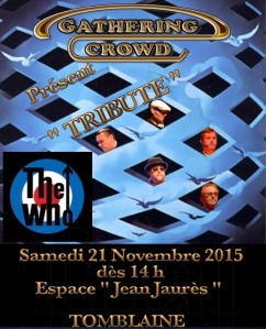 Affiche Tribute 21 Nov 2015