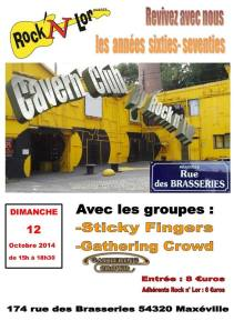Cavern'Club 12 octobre