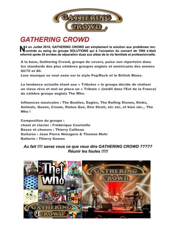 Présentation Gathering